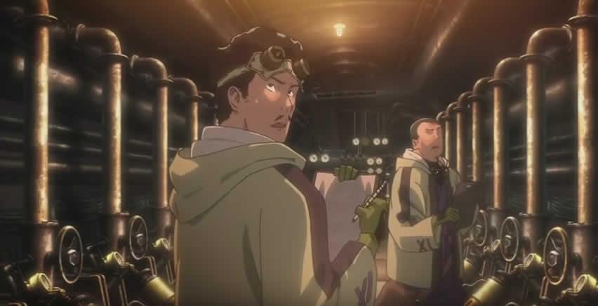 甲鉄城のカバネリ 感想 第1話 「脅える屍」
