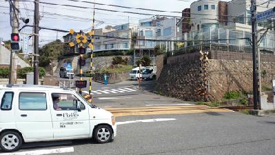 03鎌倉高校前踏切