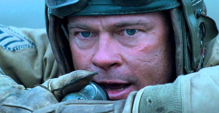 たった1台の戦車で、ドイツの大軍を相手に戦い抜いた5人の男たちを描く戦争映画「フューリー」