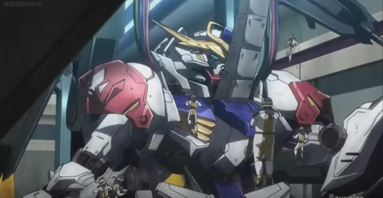 『 機動戦士ガンダム 鉄血のオルフェンズ 』2期 第3話(第28話) 「夜明け前の戦い」