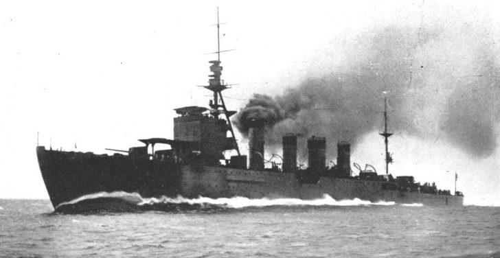 軽巡洋艦川内型 那珂