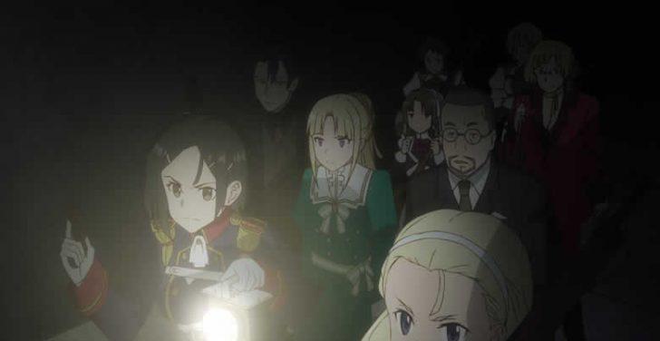 終末のイゼッタ 第10話「 魔女の鉄槌 」