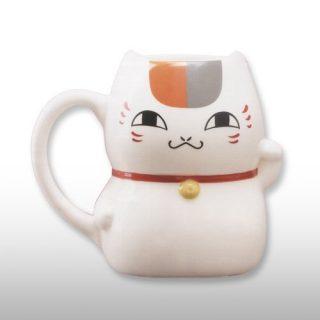 ニャンコ先生招き猫型マグカップ