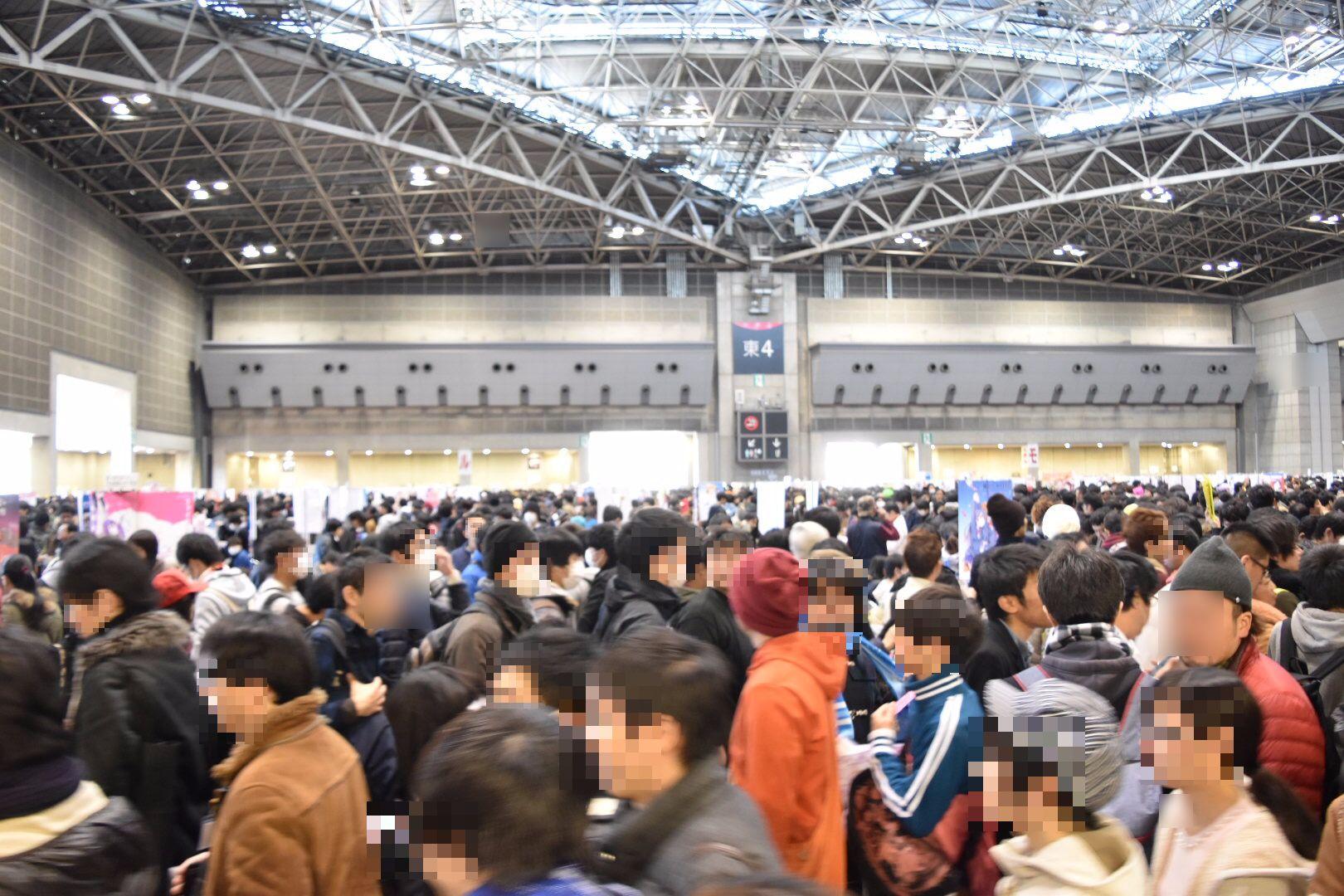 【コミックマーケット91|C91】 コミケ3日目。男も負けては居られない!!!!!列!列!!列!!!