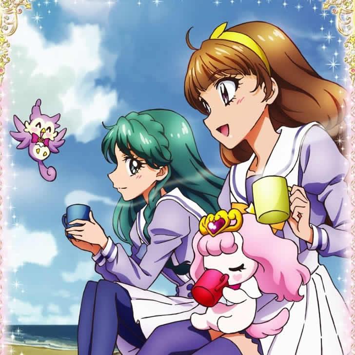 『 Go!プリンセスプリキュア 』の天ノ川きらら はオシャレ可愛い