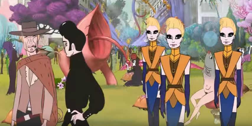 実写と思ったらアニメで、アニメと思ったら実写で、やっぱりアニメ!? 『 コングレス未来学会議 』