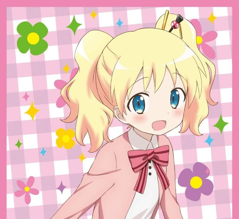 『きんいろモザイク』の アリス・カータレット は、金髪美少女なのに「和」大好きで可愛い