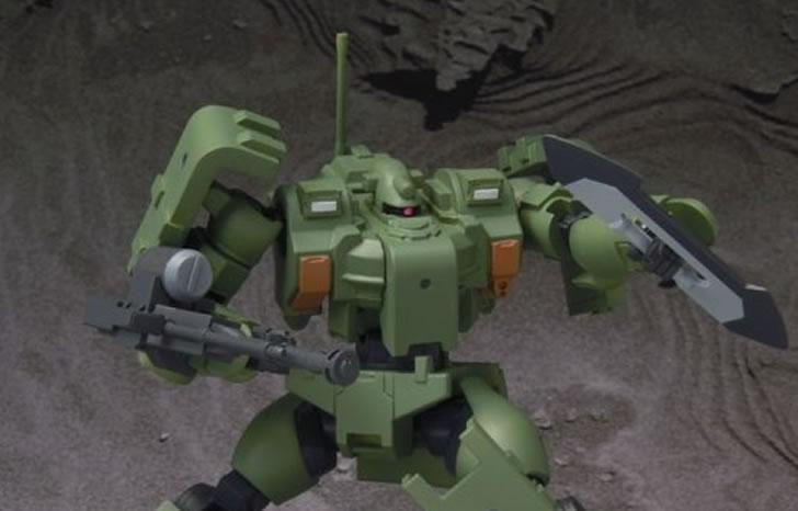 『 機動戦士ガンダム00 』ゴツくて重い、重量型の量産MSティエレンの魅力!!