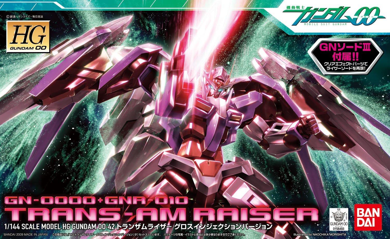 『 機動戦士ガンダム00 』オーライザー、ダブルオーライザー、トランザムライザーは圧倒的な性能を持つロマンの塊!