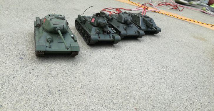 ラジコン戦車道