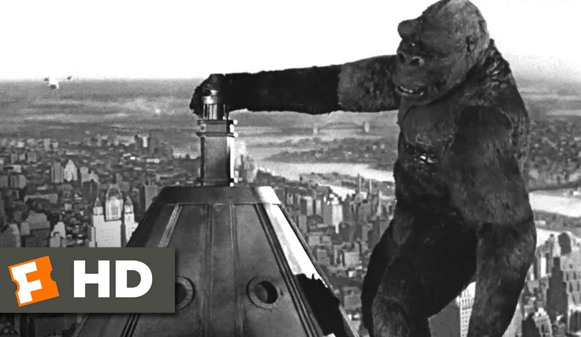 最初の キングコング はアニメーション映画だった!?アニメとコングの深い縁