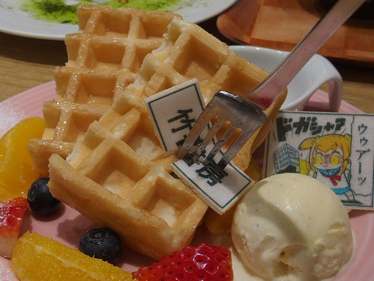 アニメ放送中!「 ポプテピピック Cafe in SWEETS PARADISE 」に行ってきました!