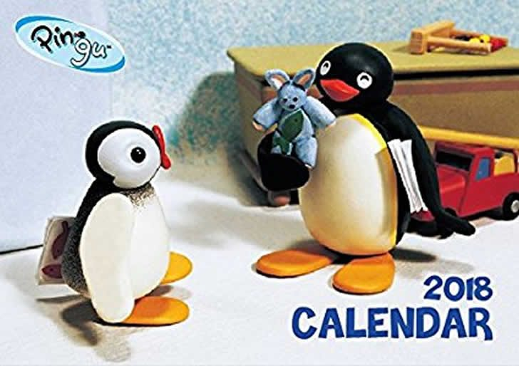 ピングー !ヤツこそはクレイで世界一有名なペンギン