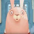 ウサビッチ はm閉ざされた空間で繰り広げるショートアニメ