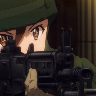 GATEに登場する 伊丹二尉率いる第3偵察隊の小火器たち【アニメ豆知識】