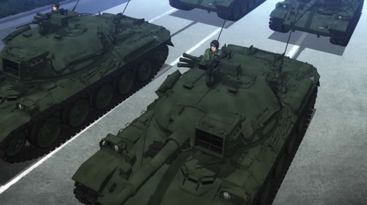 GATEで特地派遣される74式戦車はこんな戦車【アニメ豆知識】