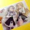『プリンセス・プリンシパル』ミニポスターにしたり、キスも出来ちゃう!? 新作のマウスパッド&クリーニングクロスが可愛くてセクシーすぎる!!