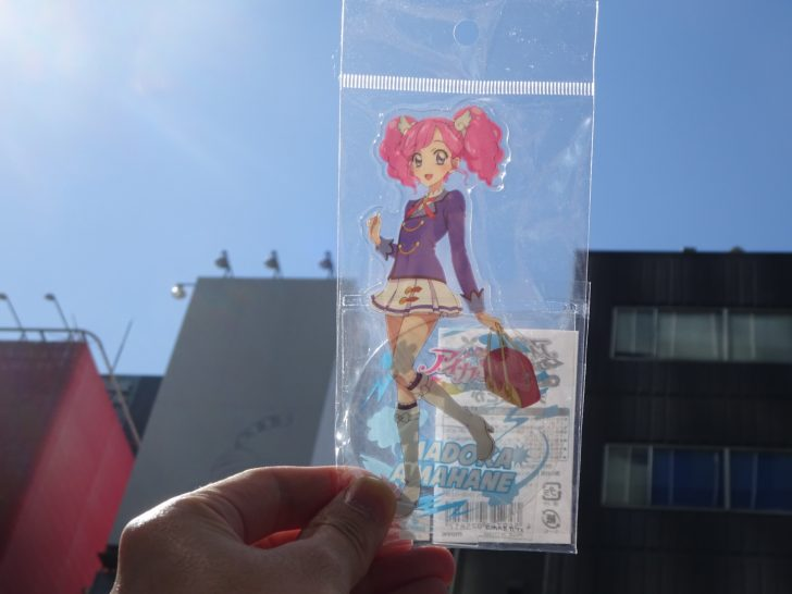 『アイカツ!』5th ANNIVERSARY FAIR. 開催中! 大天使・天羽まどかちゃんのアクリルスタンド買ってきたよ~~!!