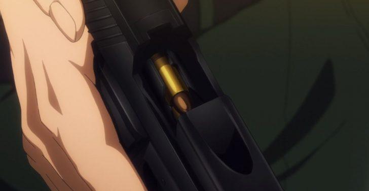 GATEでの2つの9mm拳銃活躍シーン!端役から名脇役へ!