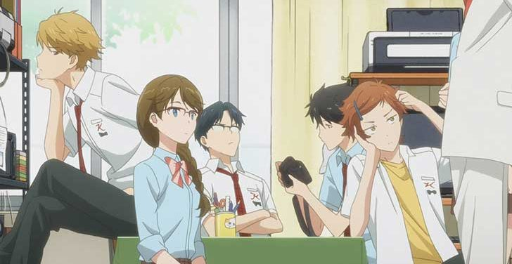 TVアニメ『 多田くんは恋をしない 』第6話「雨男、じゃないぞ」【感想コラム】