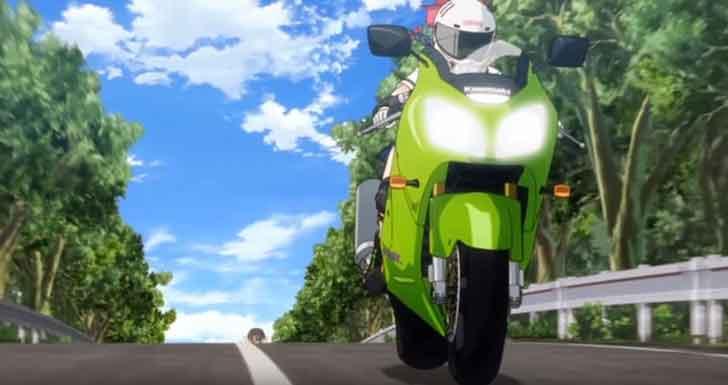 アニメ「 ばくおん!! 」から、「ニンジャZX-12R」と 謎だらけの「 来夢先輩 」【アニメ豆知識】