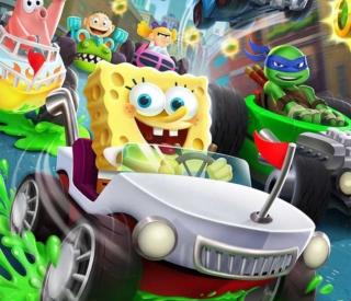 スポンジボブやミュータント・タートルズがレースゲームで共演!?『ニコロデオンカートレーサーズ』が2018年10月に発売!