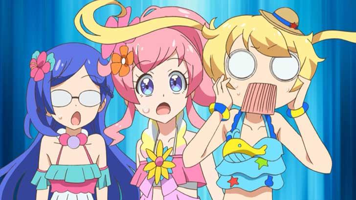 『 キラッとプリ☆チャン 』第19話「夏だ!ビーチだ!行ってみた!」水着回→あんえも→サマーメイドコーデ→デレまくりあんな様【感想コラム】