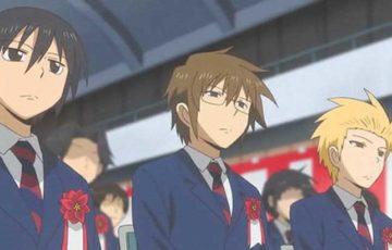 男子高校生の日常 。羨ましいほどの仲良し三人組