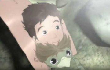 家族の絆が深まるアニメ「河童のクゥと夏休み」