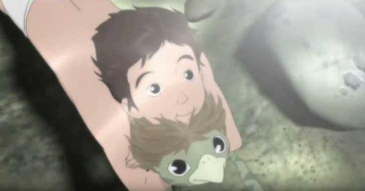 何事にも無関心の少年が成長していくアニメ「 河童のクゥと夏休み 」