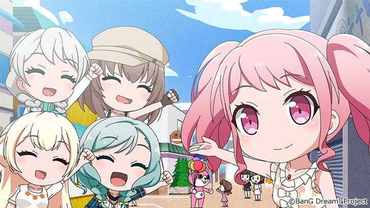 『 BanG Dream! ガルパ☆ピコ 』Pico17「パステル*散歩」【感想コラム】