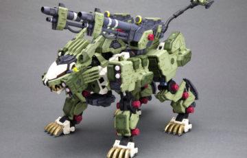 驚異の重武装形態「ライガーゼロ パンツァー」が新規デカールを追加し再生産!