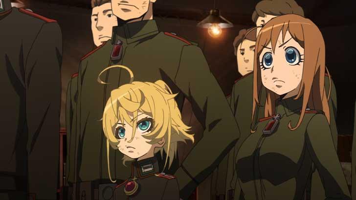 可愛い顔とは裏腹に、銃や戦闘機を操る「 幼女戦記 」の少女たち。