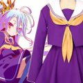 TVアニメ『ノーゲーム・ノーライフ』ヒロイン「白」が着用しているセーラー服がコスパティオより発売。