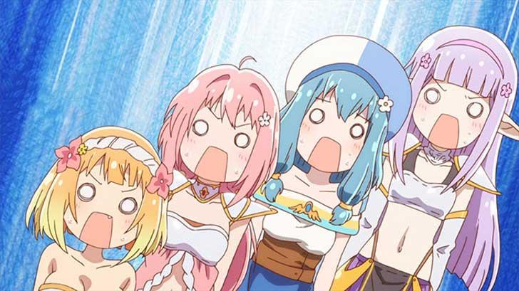 TVアニメ『 えんどろ~! 』ろ~る4「海と水着と邪神討伐~!」【感想コラム】
