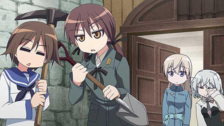 TVアニメ『 ストライクウィッチーズ 501部隊発進しますっ! 』第2話「501汚部屋掃除します?」【感想コラム】