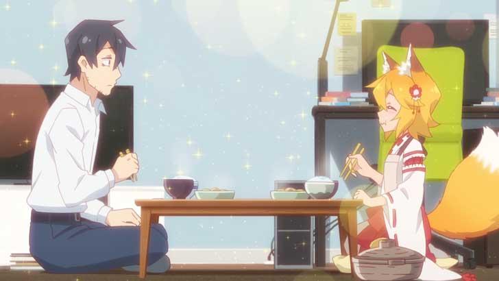 TVアニメ『 世話やきキツネの仙狐さん 』第1話「存分に甘やかしてくれよう」【感想コラム】