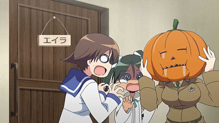 TVアニメ『 ストライクウィッチーズ 501部隊発進しますっ! 』第4話「501ハロウィンします?」【感想コラム】