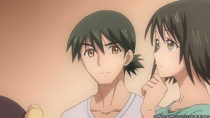TVアニメ『 ノブナガ先生の幼な妻 』第6話「お背中流します」【感想コラム】