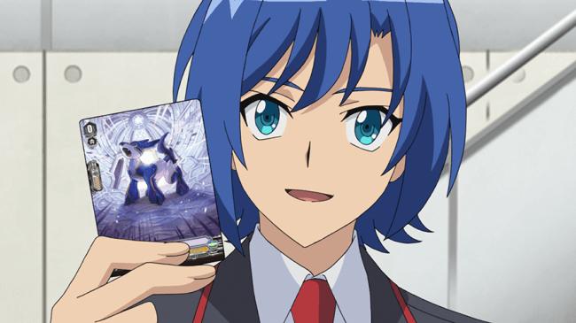 アニメ「カードファイト!! ヴァンガード」ディメンジョン2より先行場面カットを限定公開!アイチが生徒会のコーチに!