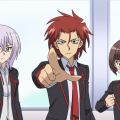 アニメ「カードファイト!! ヴァンガード」ディメンジョン3より先行場面カットを限定公開!那嘉神エルとはいったい!?