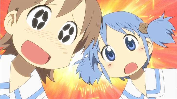 TVアニメ『日常』のゆっことみおちゃんの掛け合いが面白い!
