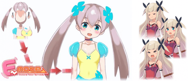 新しい2Dアニメの世界を生み出す『E-mote』ver. 3.9.7にアップデート!
