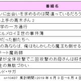 2019年夏アニメ番組の視聴意向ランキングを発表!~エンタメ消費者動向の定期サービス『eb-i Xpress』~