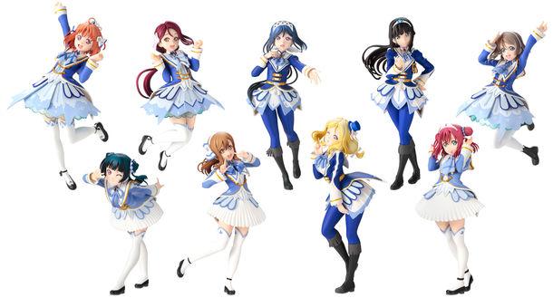 一番くじ「ラブライブ!サンシャイン!!」にAqours 9人の 劇場版衣装リアルフィギュアが初登場!