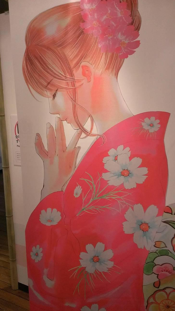 京都国際マンガミュージアム「ちはやふるの世界~末次由紀原画展~」参加レポート