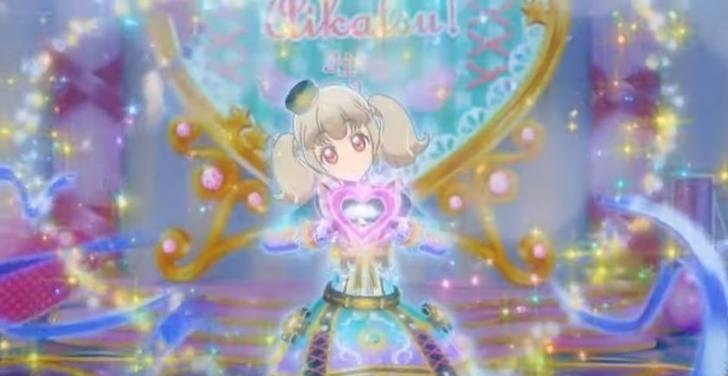 『 アイカツオンパレード! 』 第16話「輝きのらき」らきちゃんのジュエリングドレス