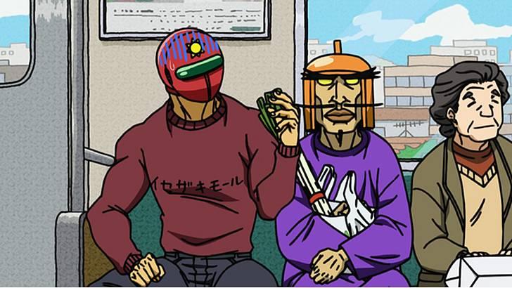 川崎市で繰り広げられる正義と悪の物語!~ 天体戦士サンレッド