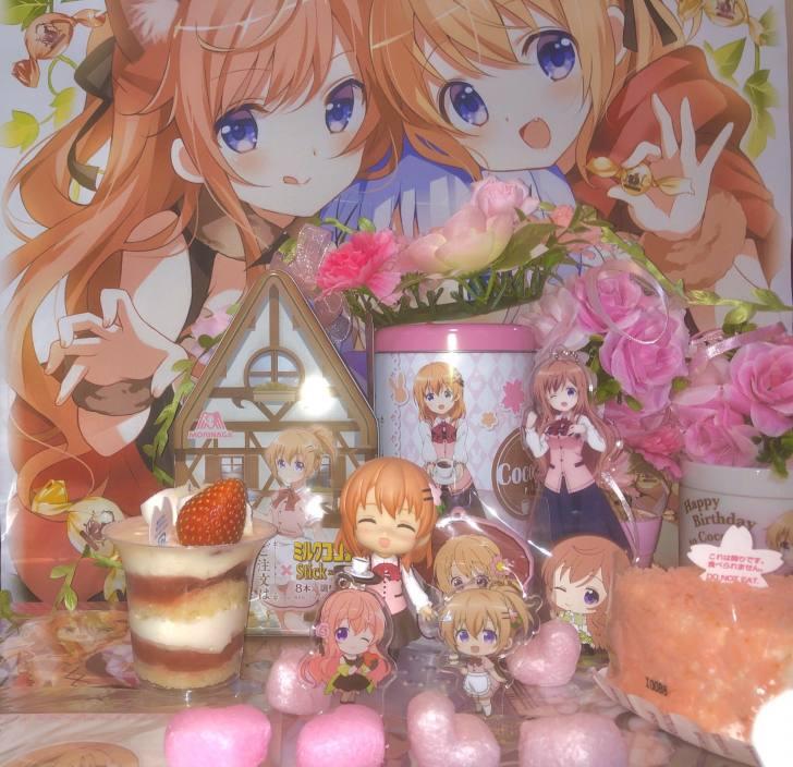 4月10日はココアさんの誕生日!『ご注文はうさぎですか??』ココアバースデーを全力でお祝い!!