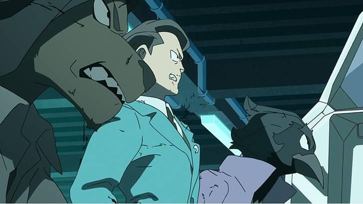 アニメ「 BNA ビー・エヌ・エー 」第3話『Rhino Melancholy』【感想コラム】